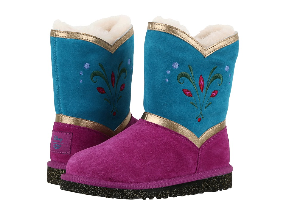 UGG Kids - Elsa Coronation (Toddler/Little Kid/Big Kid) (Royal Purple) Girl's Shoes