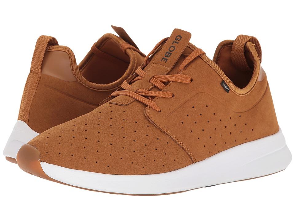 Globe - Dart Lyte (Caramel/White) Men's Skate Shoes