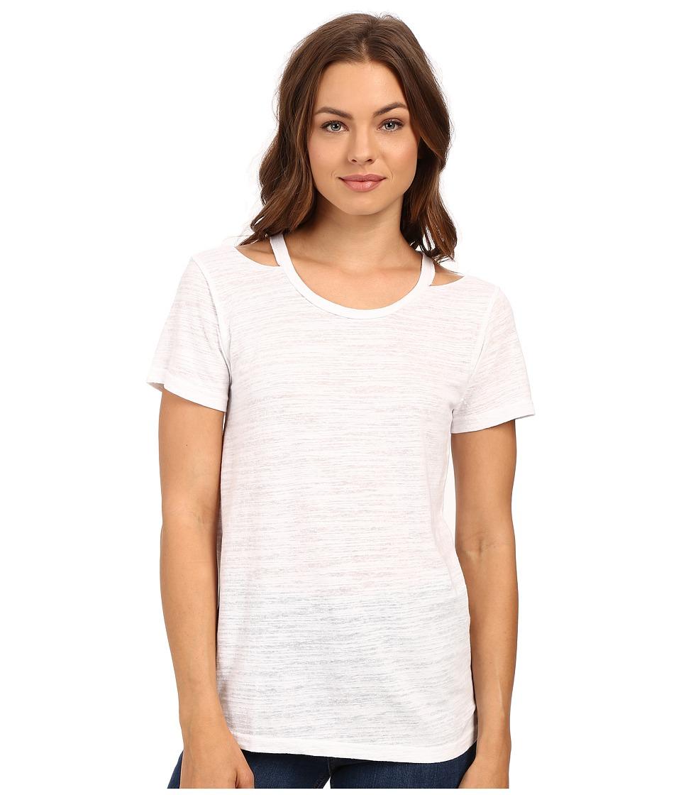 LNA - Bolero Tee (White) Women's T Shirt