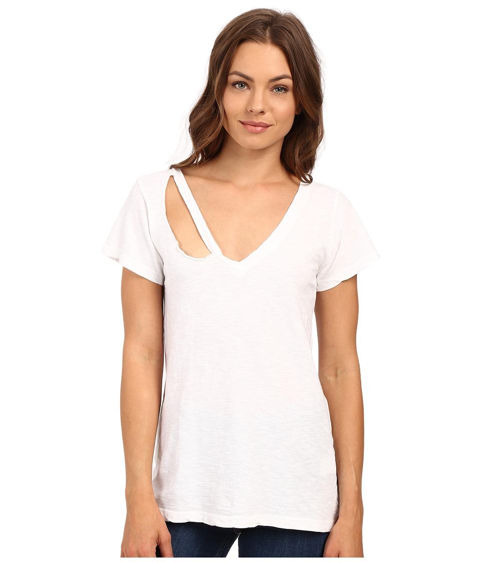 LNA - Extreme Fallon Tee (White) Women's T Shirt