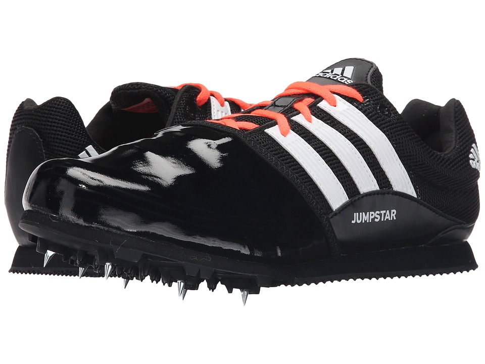 adidas - Jumpstar Allround (Black/White/Solar Red) Athletic Shoes