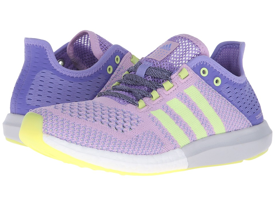 adidas - Climacool Cosmic Boost (Light Purple/Yellow) Women's Shoes