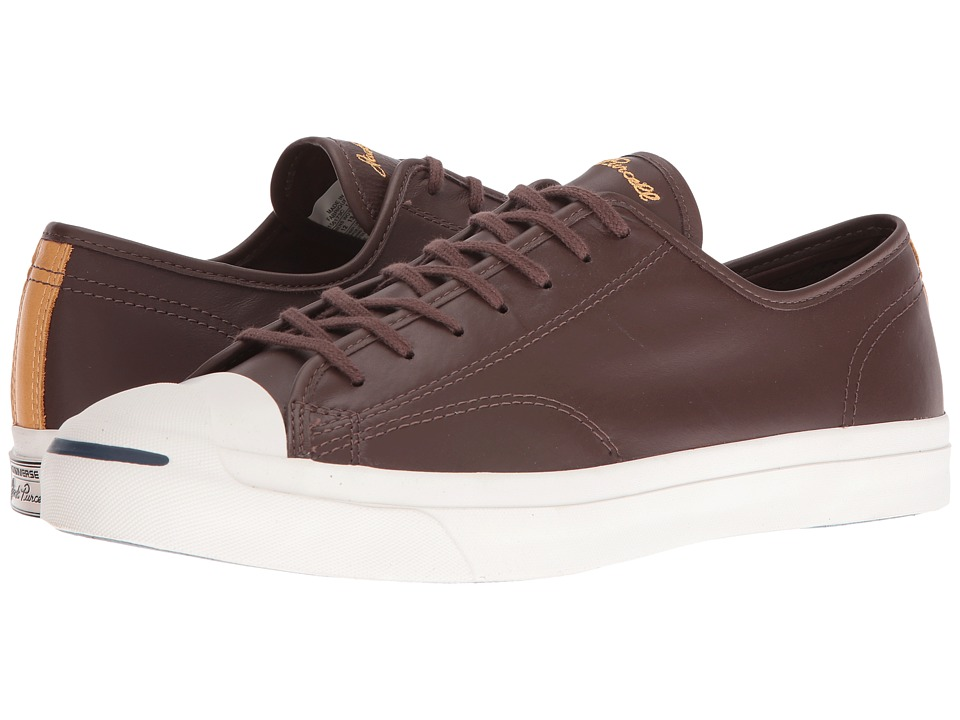 Converse - Jack Purcell LTT Ox - Leather Pack (Chocolate Leather) Athletic Shoes