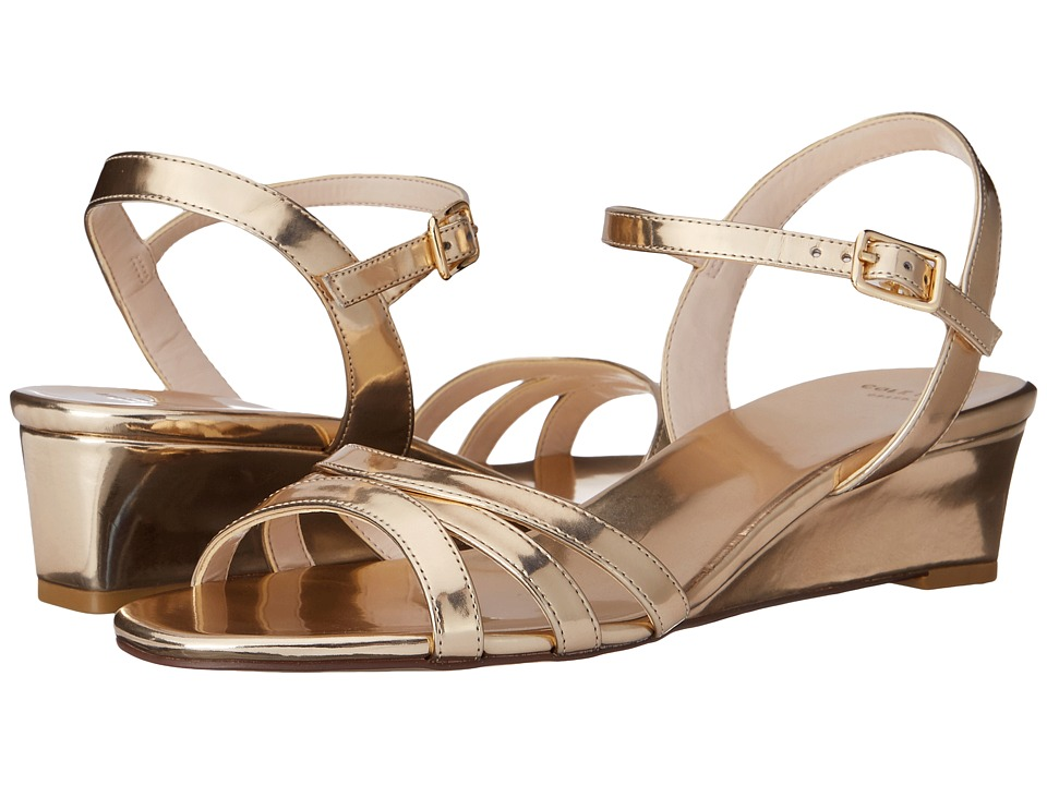 Cole Haan - Murley Wedge (Soft Gold) Women's Wedge Shoes