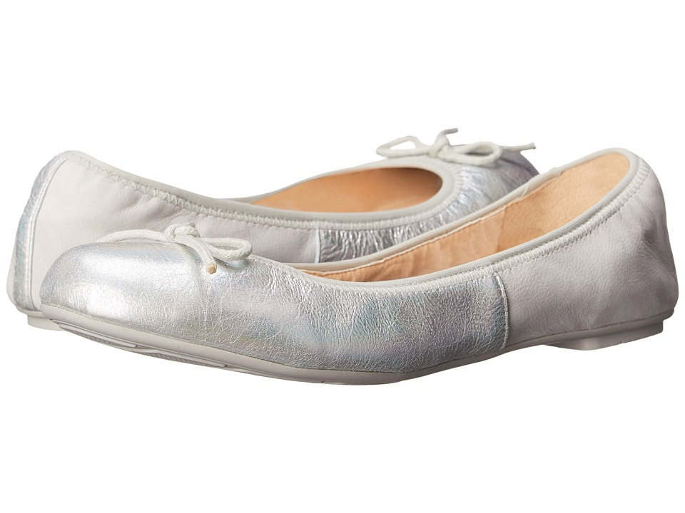 Cole Haan - Manhattan Demi Ballet (Silver Iridescent) Women's Dress Flat Shoes