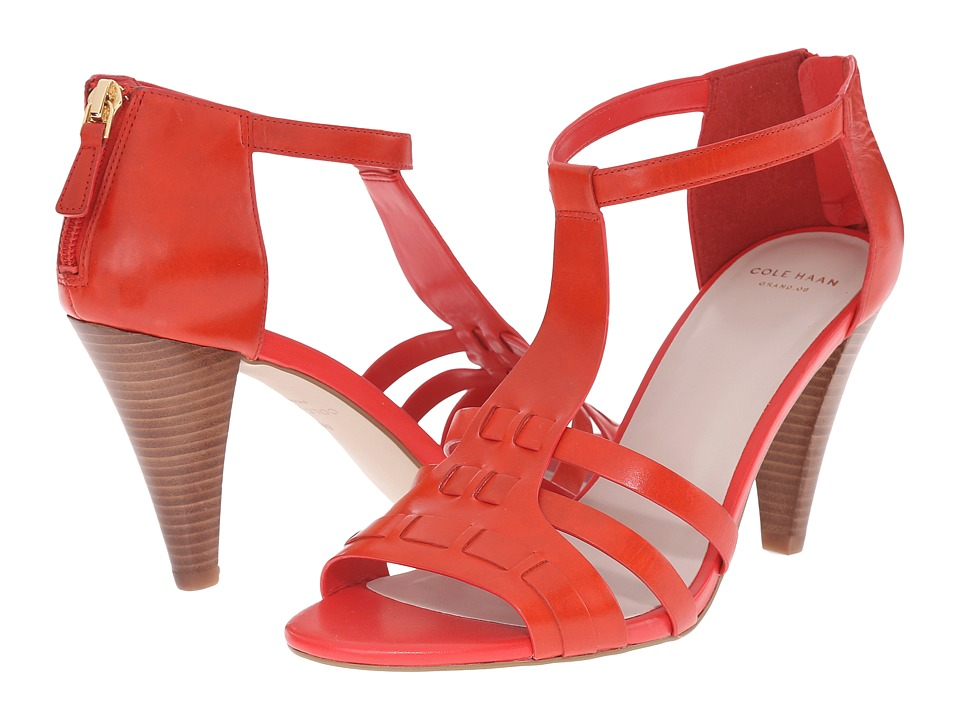 Cole Haan - Cady High Sandal (Fiery Red) Women's Sandals