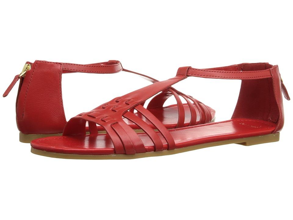 Cole Haan - Cady Flat Sandal (Fiery Red) Women's Sandals