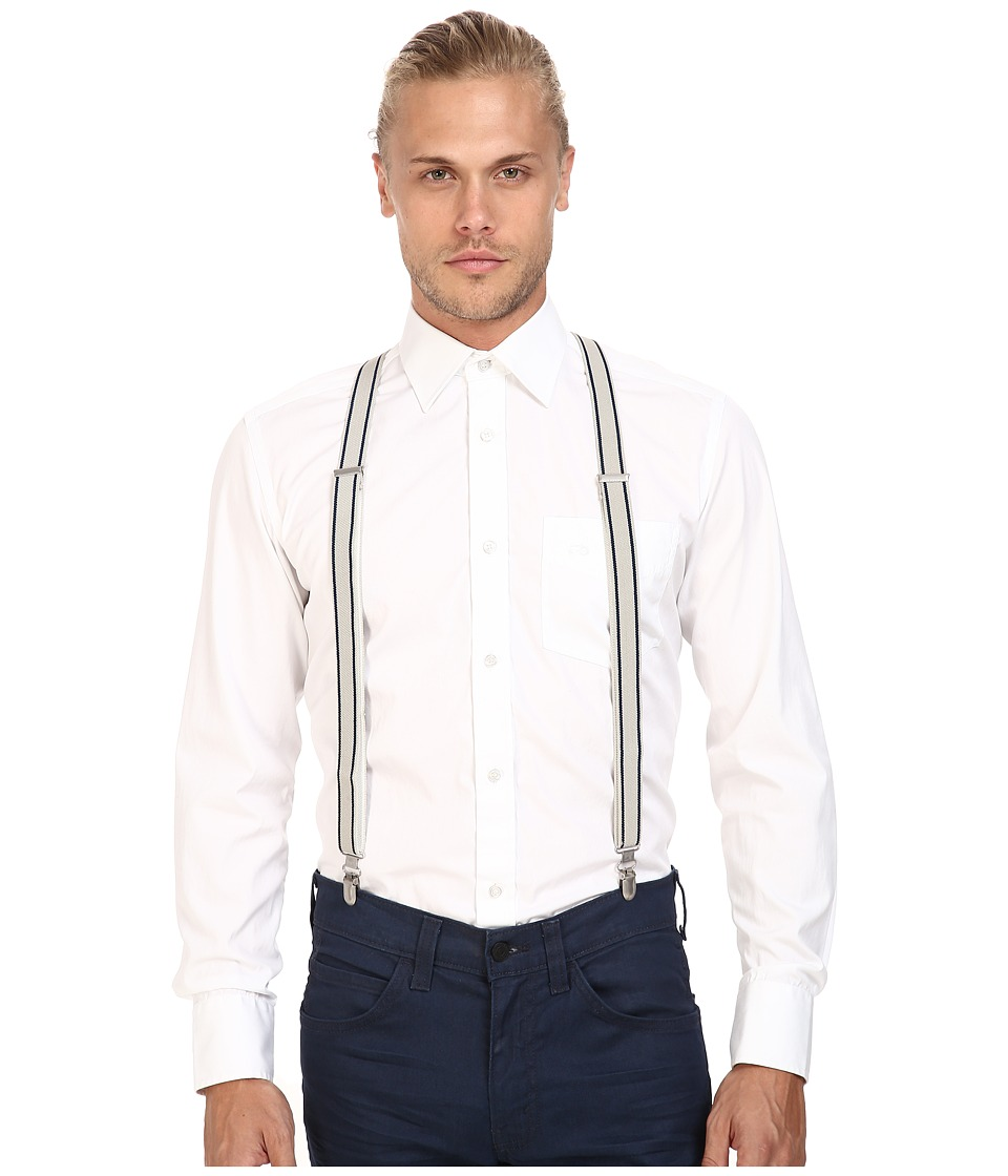 Scotch & Soda - Suspenders in Elasticated Quality (18 Cobalt) Men's Belts