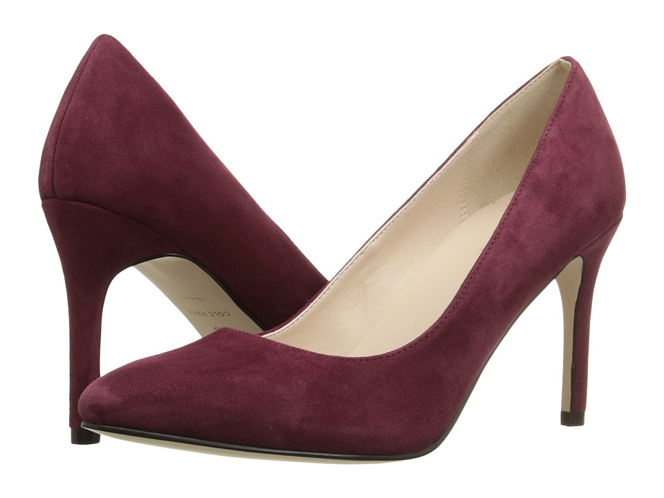Cole Haan - Fair Haven Pump (Zinfandel Suede) Women's 1-2 inch heel Shoes