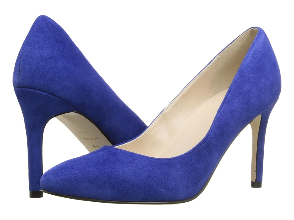 Cole Haan - Fair Haven Pump (Marlin Blue Suede) Women's 1-2 inch heel Shoes