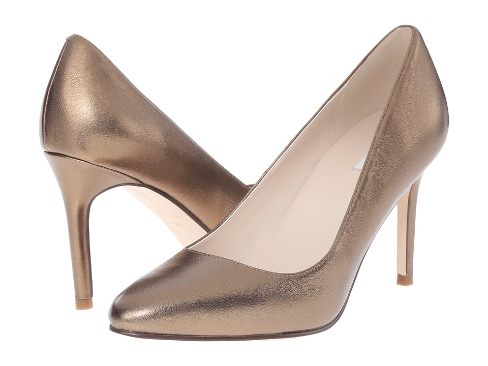 Cole Haan - Fair Haven Pump (Gold Metallic) Women's 1-2 inch heel Shoes