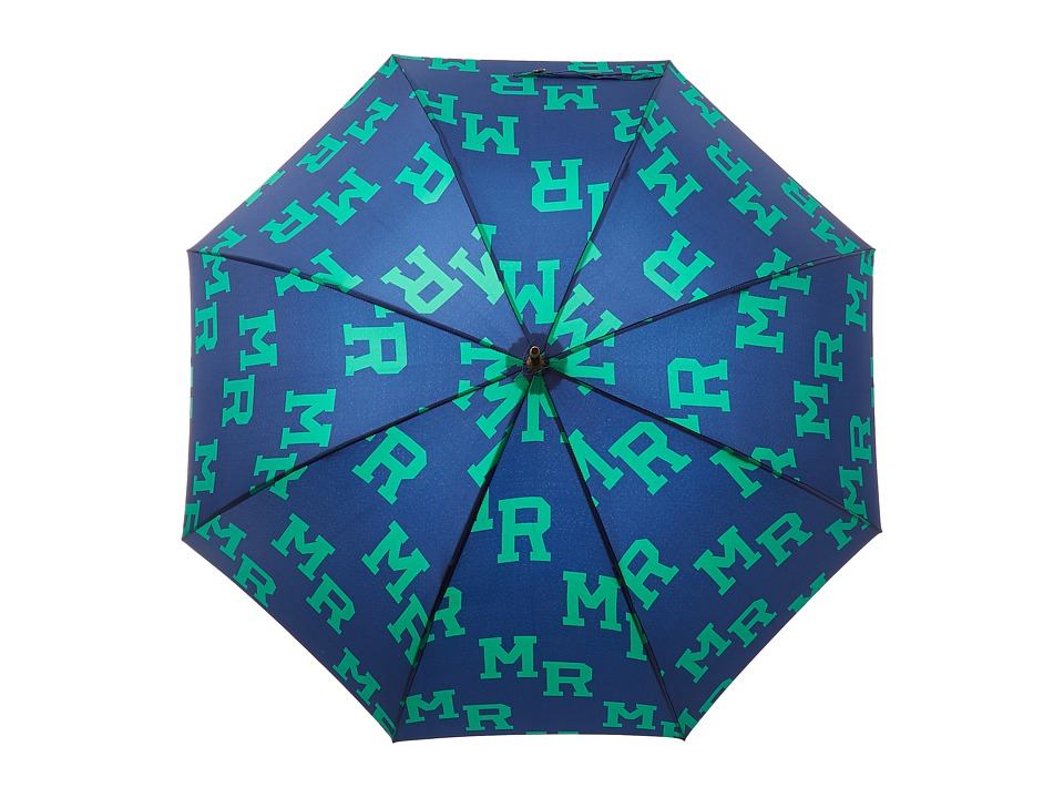 Scotch & Soda - Gentleman's Umbrella (17 Navy/Green) Umbrella