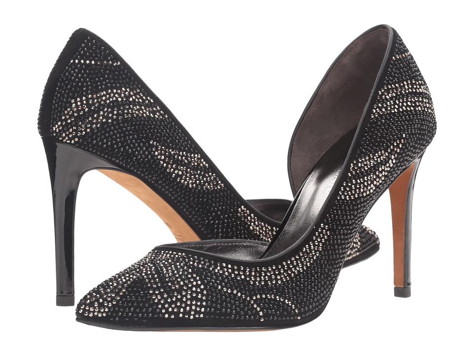 Donald J Pliner - Kearasp (Gunmetal/Black) Women's Shoes