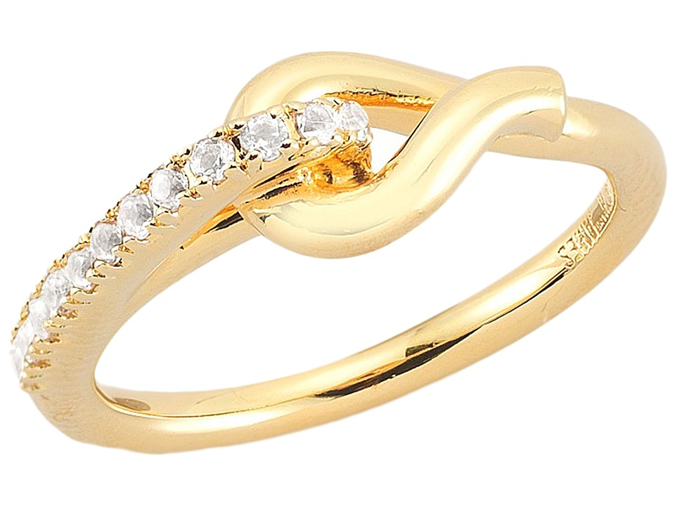 Elizabeth and James - Lynn Ring (Yellow Gold) Ring