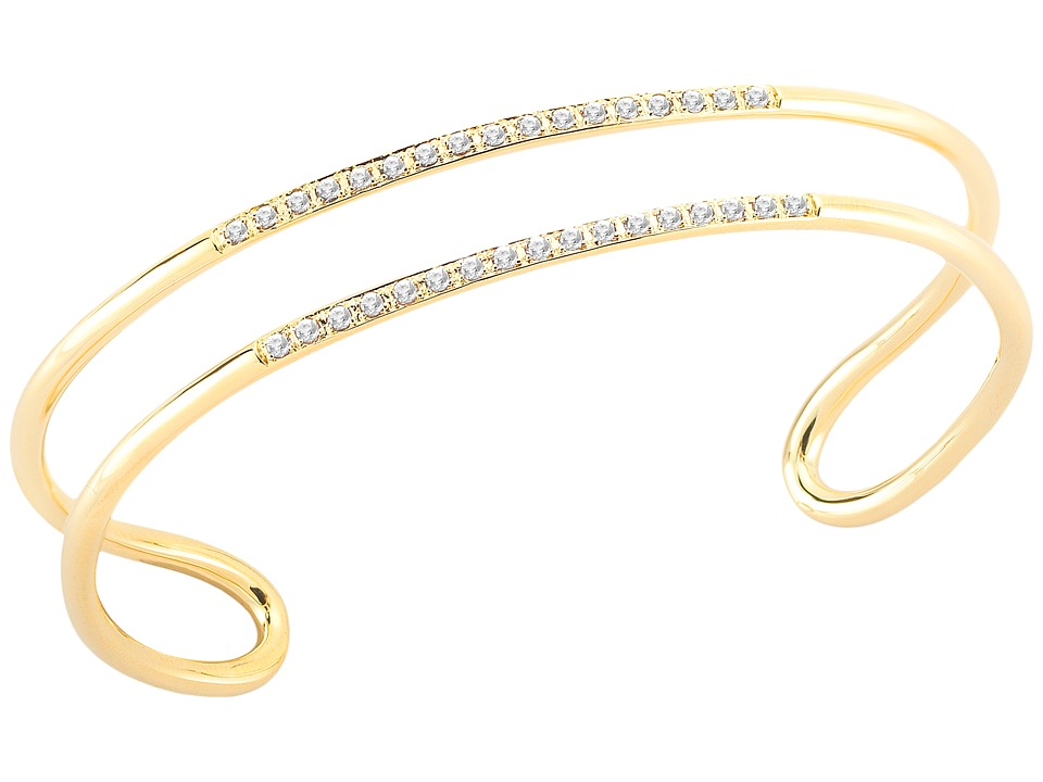 Elizabeth and James - Selena Cuff Bracelet (Yellow Gold) Bracelet