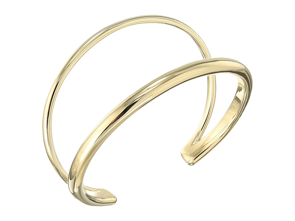 Elizabeth and James - Del Rey Cuff Bracelet (Yellow Gold) Bracelet