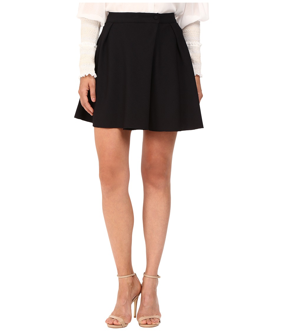 See by Chloe - Embellished Crepe Mini Skirt (Dark Night) Women's Clothing