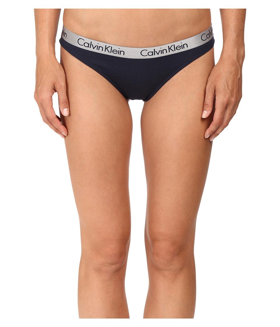 Calvin Klein Underwear - Thong QD3539 (Ocean Floor) Women's Underwear