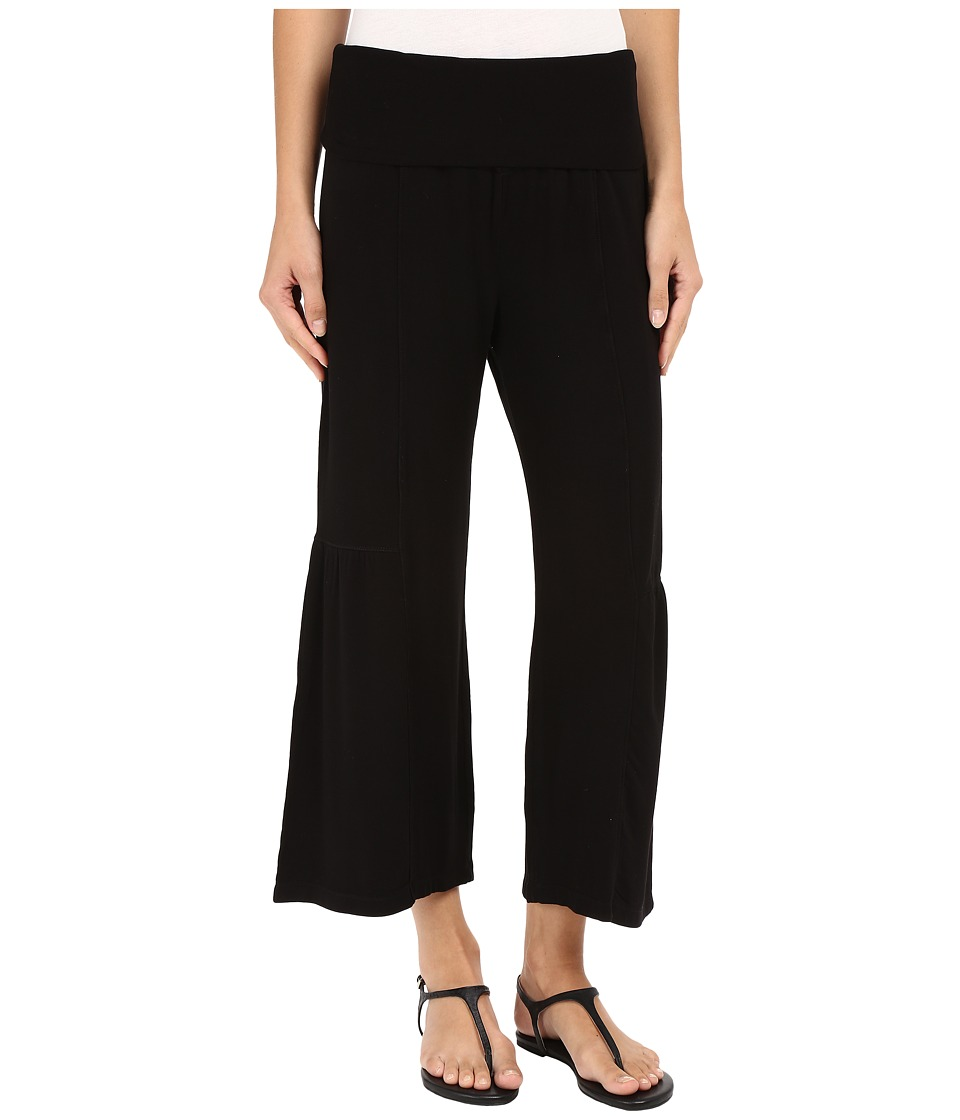 XCVI - Rochana Crop Pants (Black) Women's Casual Pants