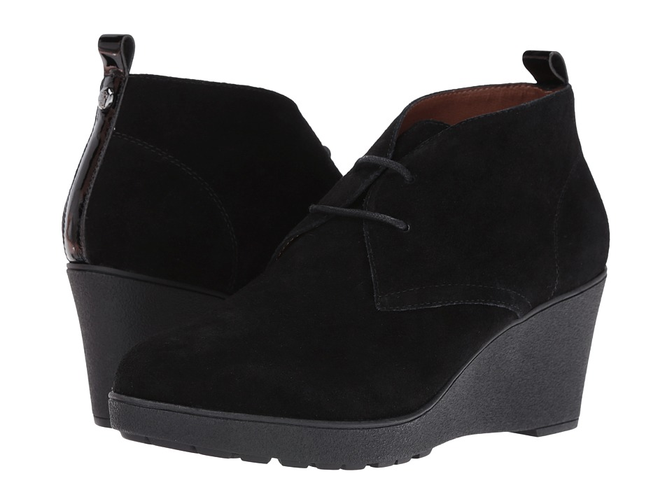 Donald J Pliner - Nakka (Black Suede) Women's Shoes