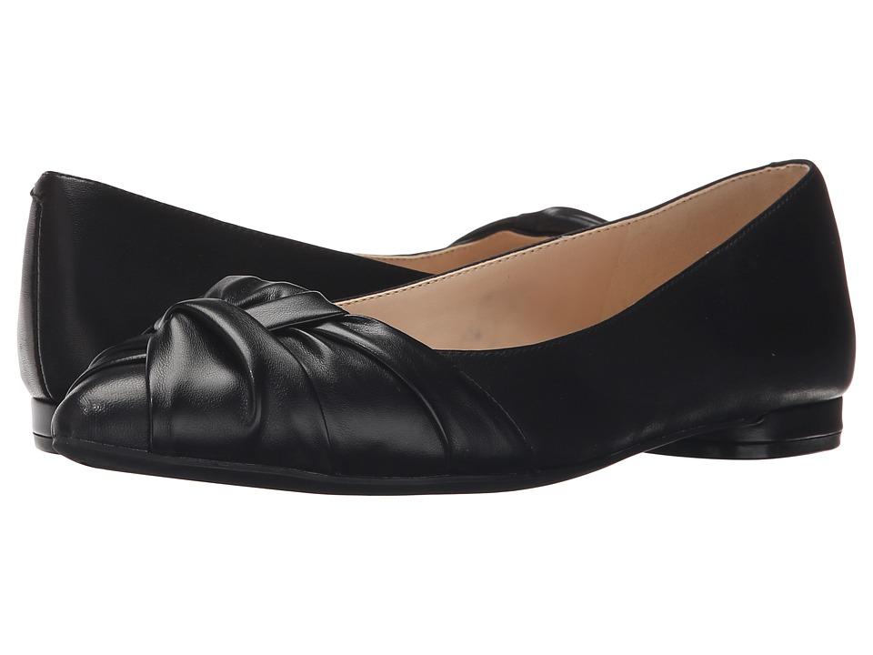 Nine West - Oliver (Black/Black Leather) Women's Shoes