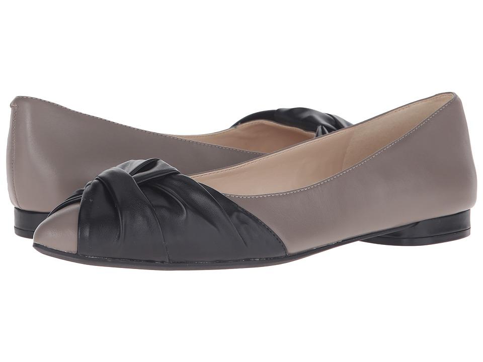 Nine West - Oliver (Grey/Black Leather) Women's Shoes