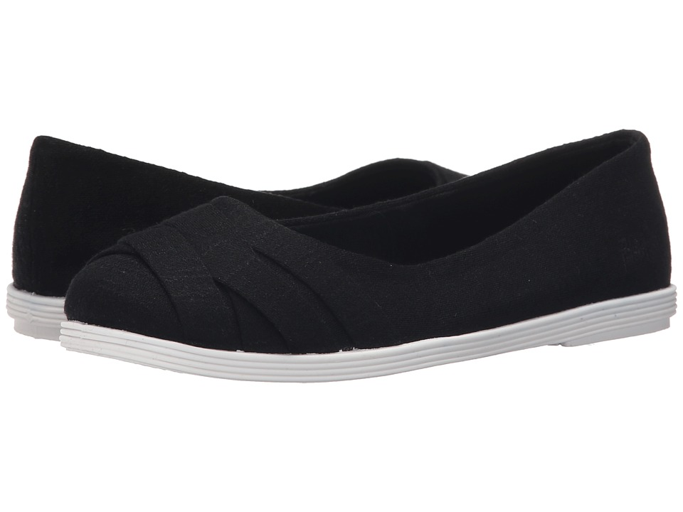 Blowfish - Glo (Black New Jersey/White Sole) Women's Flat Shoes