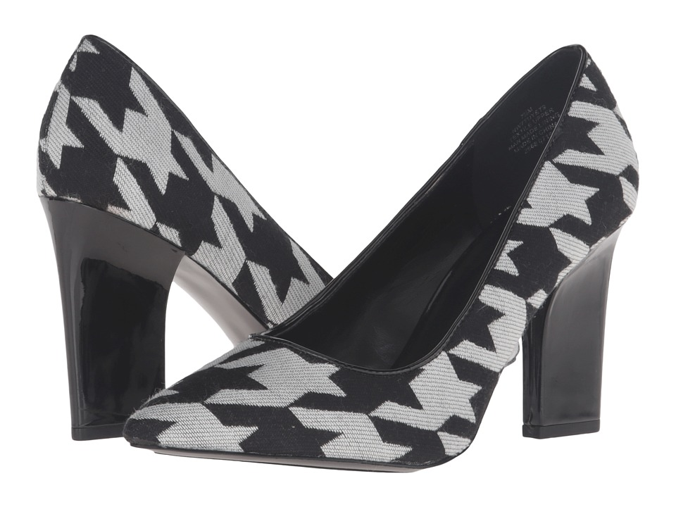 Nine West - Tuyet (White Black/Black) Women