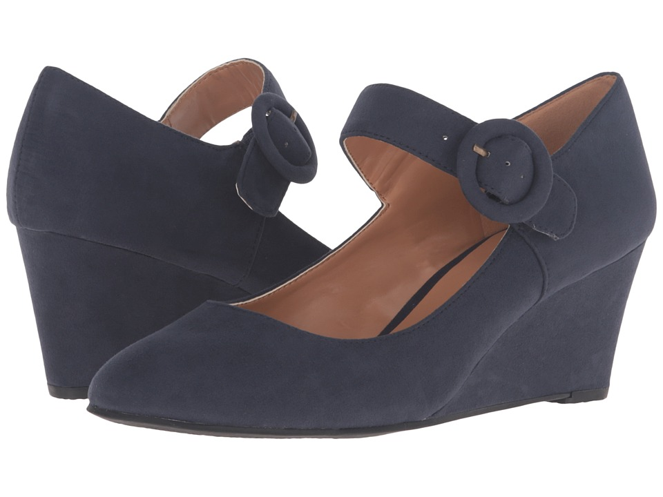 Nine West - Irina (Navy Fabric) Women's Shoes