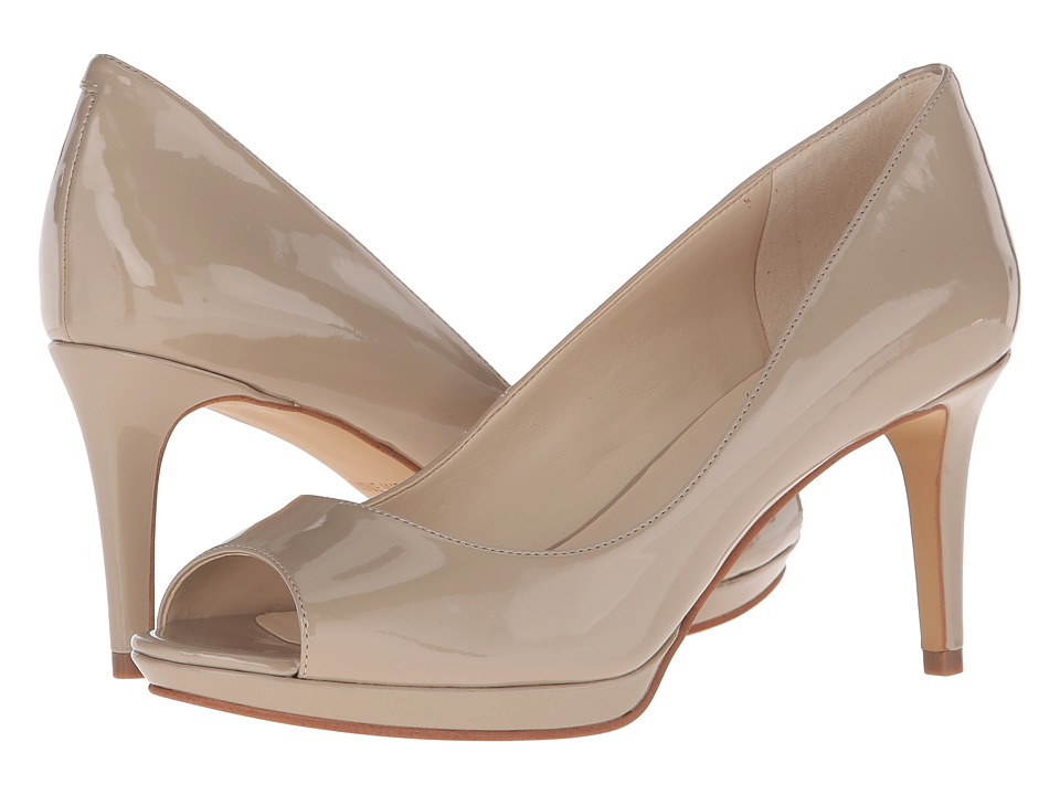 Nine West - Gilded (Taupe Synthetic) Women's Shoes