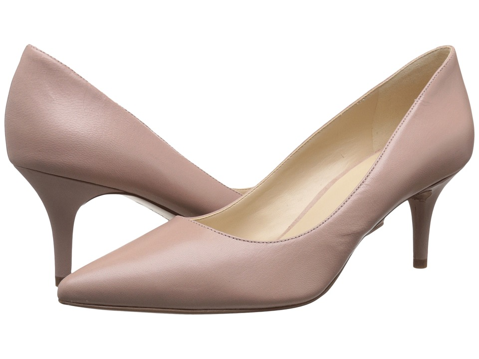 Nine West - Margot (Pink Leather) Women's Shoes