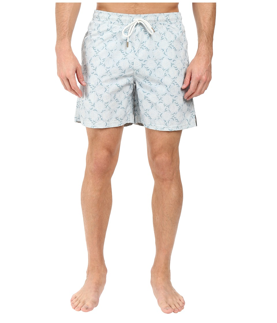 Billy Reid - Bay Swimshorts (Marine) Men's Swimwear