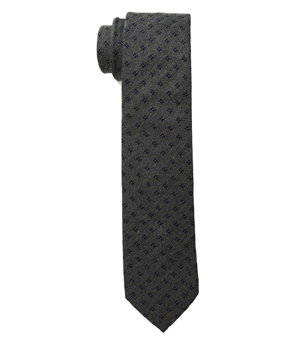 Scotch & Soda - Tie in Wool Quality and Retro Pattern (20 Grey) Ties