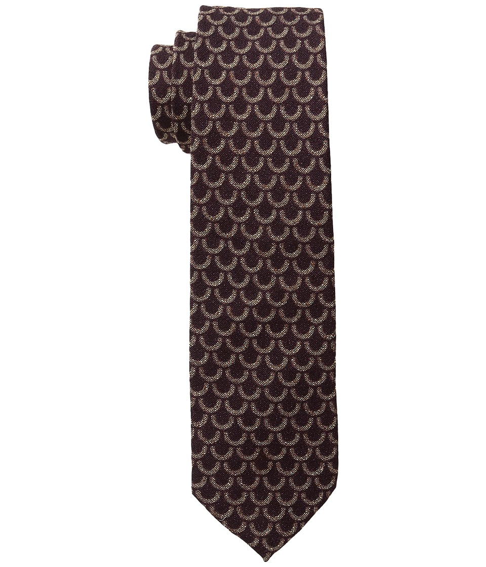 Scotch & Soda - Tie in Wool Quality and Retro Pattern (2C Red) Ties