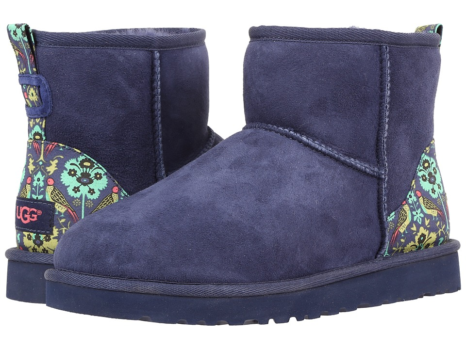 UGG - Classic Mini Liberty (Navy) Women's Shoes