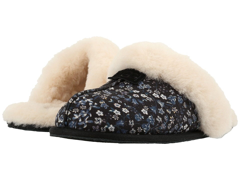 UGG - Scuffette Liberty (Black) Women's Shoes