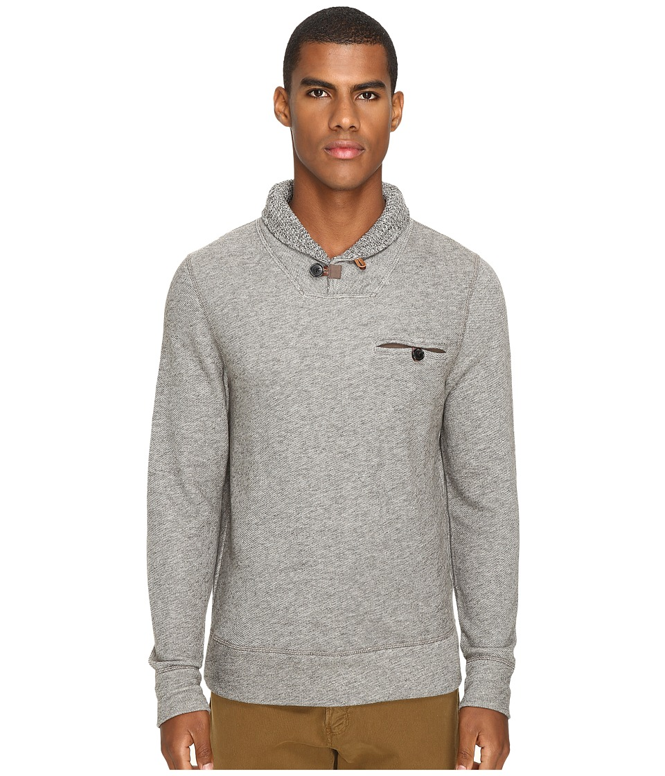 Billy Reid - Shiloh Shawl (Brown Melange) Men's Sweater