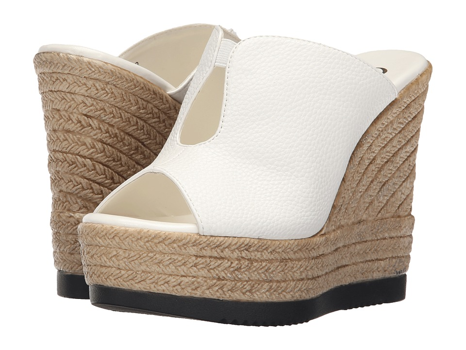 Callisto of California - Alessaa (White) Women's Slide Shoes