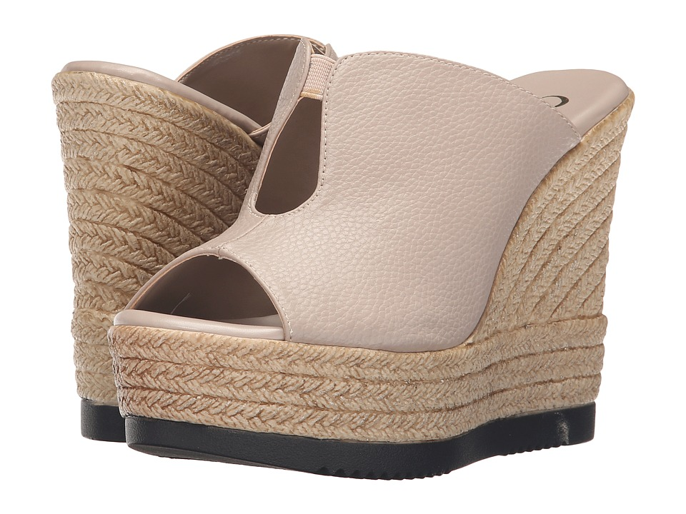Callisto of California - Alessaa (Taupe) Women's Slide Shoes