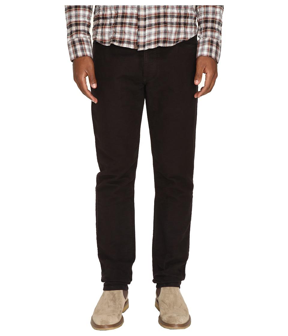 Billy Reid - Moleskin Jeans in Black Walnut (Black Walnut) Men's Jeans