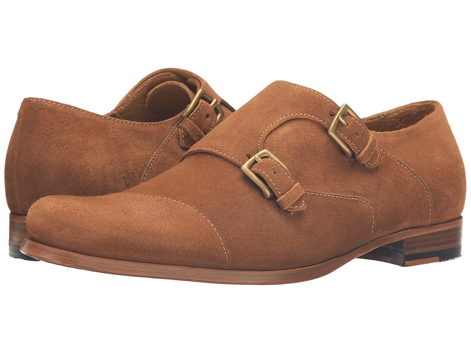 Billy Reid - Double Monk Strap (Tobacco) Men's Monkstrap Shoes