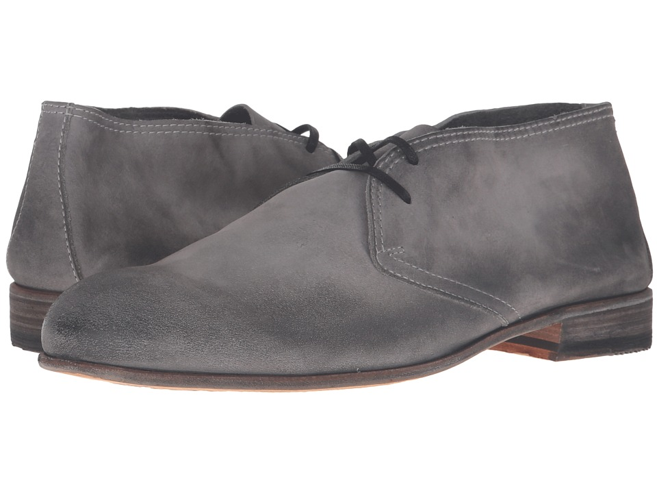Billy Reid - Indianola Chukka (Charcoal) Men's Lace-up Boots