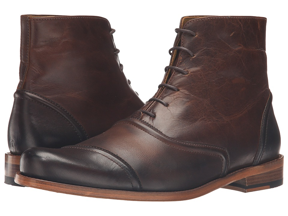 Billy Reid - Crosby Boot (Dark Brown) Men's Lace-up Boots
