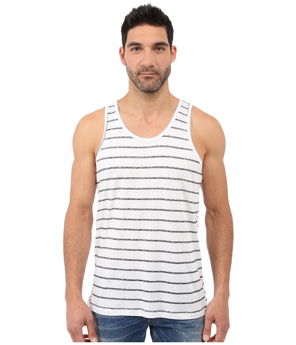 Alternative - Cotton Modal Easy Tank Top (Simple Stripe) Men's Sleeveless