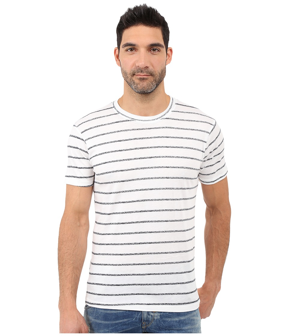 Alternative - Cotton Modal Pre-Game Tee (Simple Stripe) Men's T Shirt