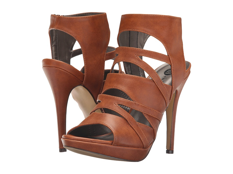 Michael Antonio - River - PU (Cognac) High Heels