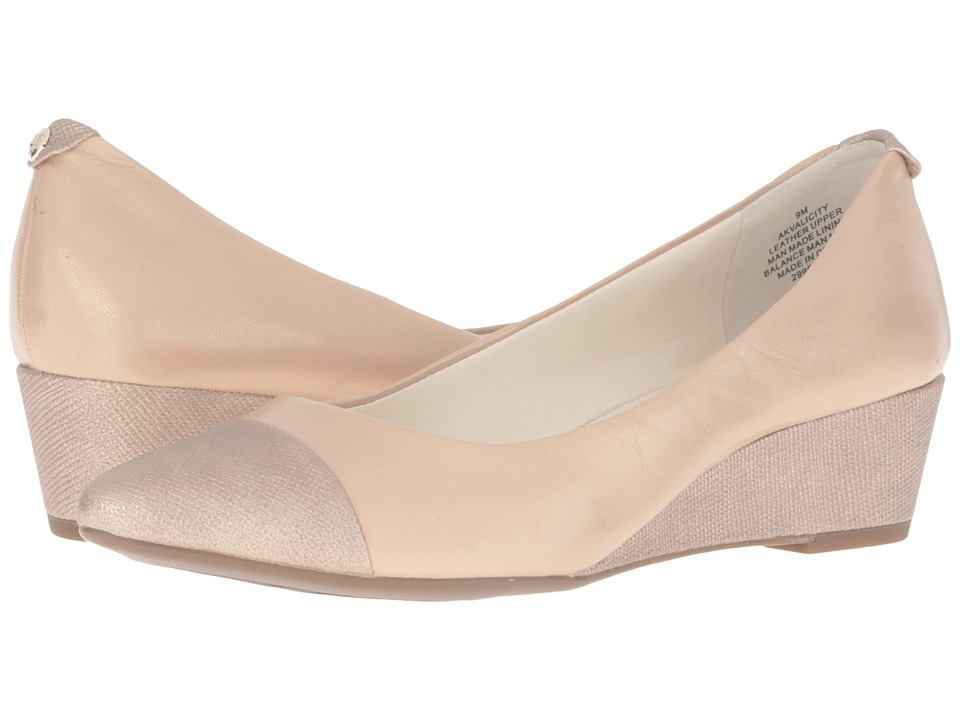 Anne Klein - Valicity (Light Natural/Light Natural Leather) Women's Shoes