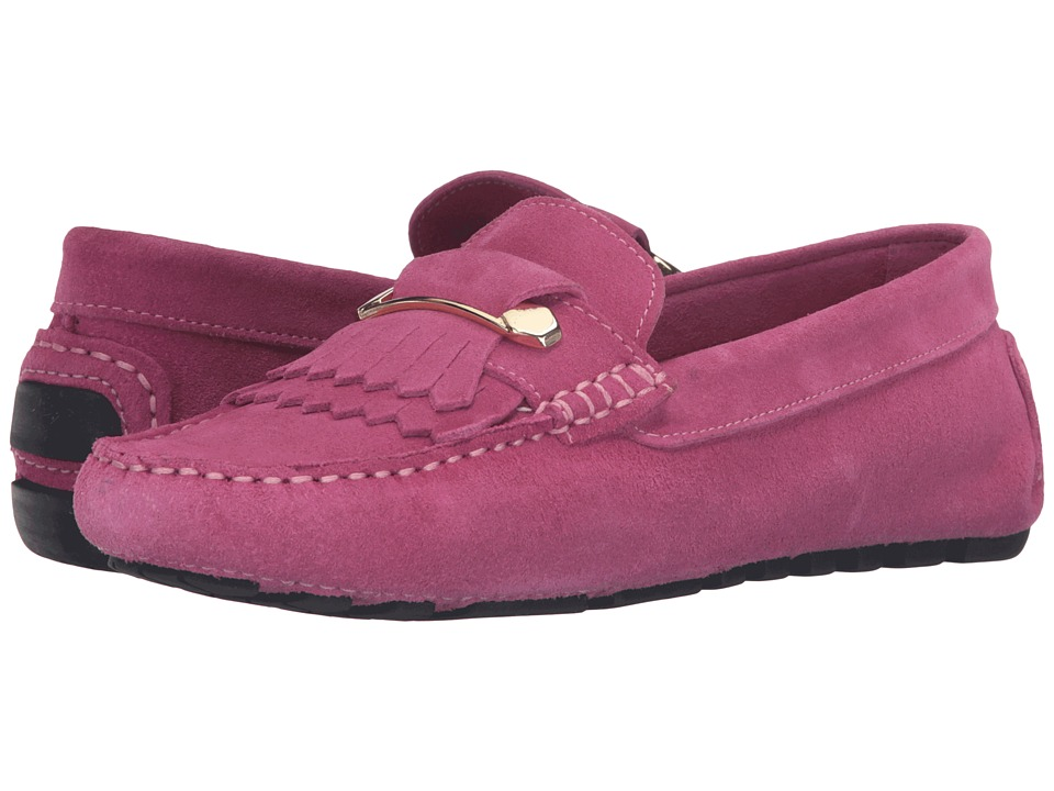 Massimo Matteo - Kiltie Pin Driver (Pink) Women's Slip on Shoes