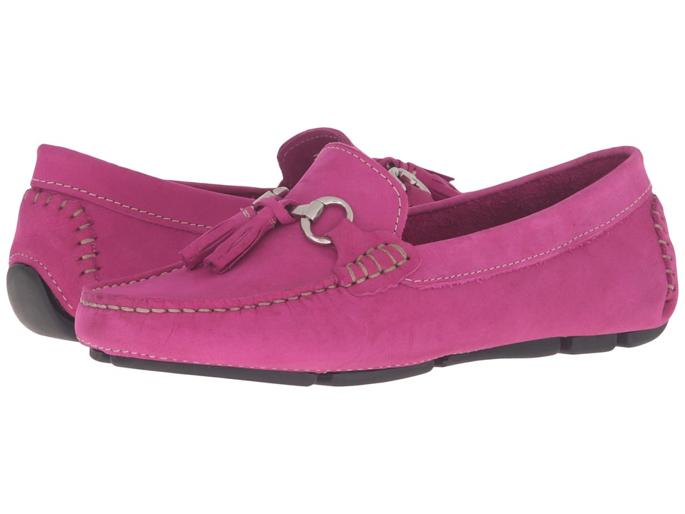 Massimo Matteo - Tassel Bit Driver (Fuchsia) Women's Slip on Shoes