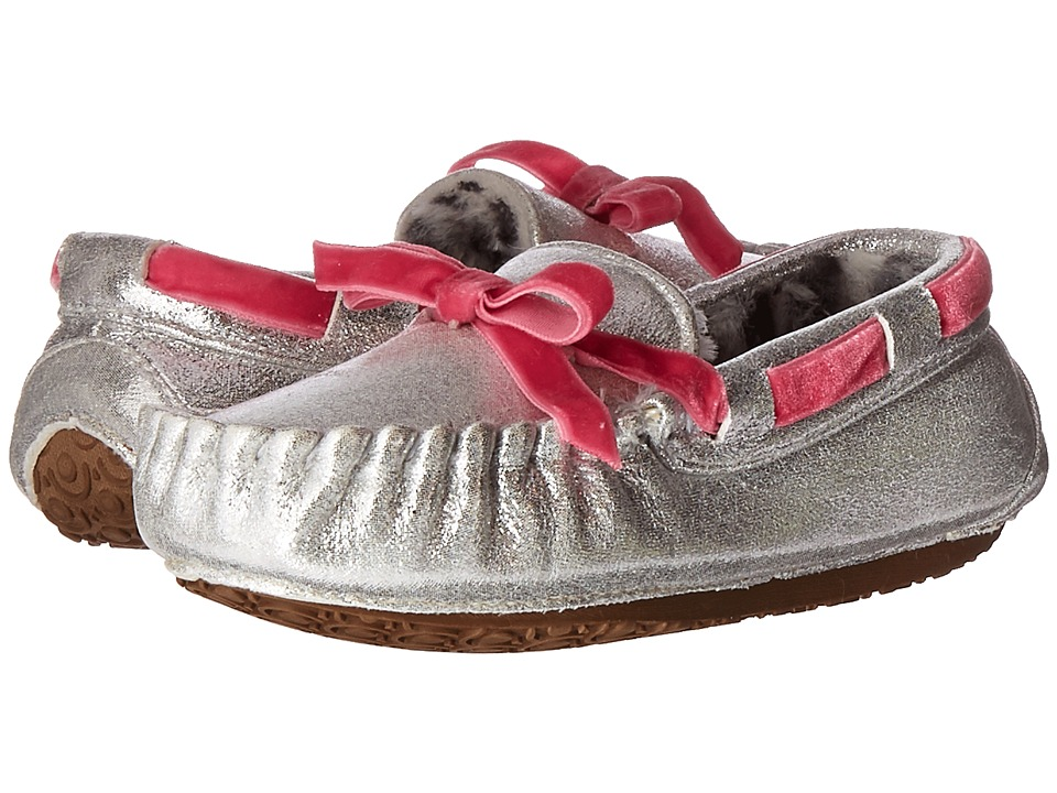 Stride Rite - Gaby Moccasin (Toddler/Little Kid) (Silver) Girl's Shoes